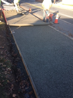 Memorial-Park-pervious-sidewalk-installation